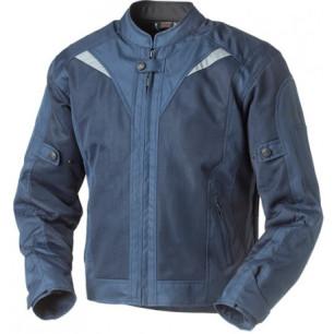 chaqueta para motos rainers riverside azul