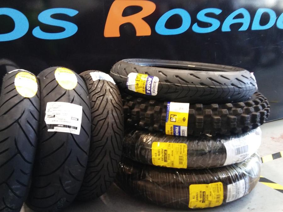 ruedas y neumáticos para motos