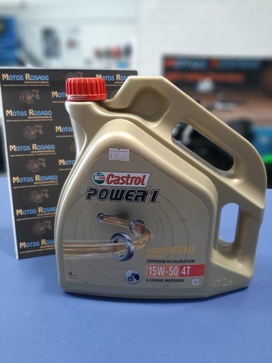 aceites y lubricantes para motos 15w 50