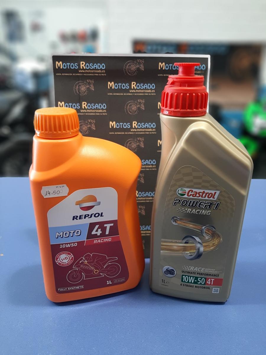 aceites y lubricantes para motos 10w 50