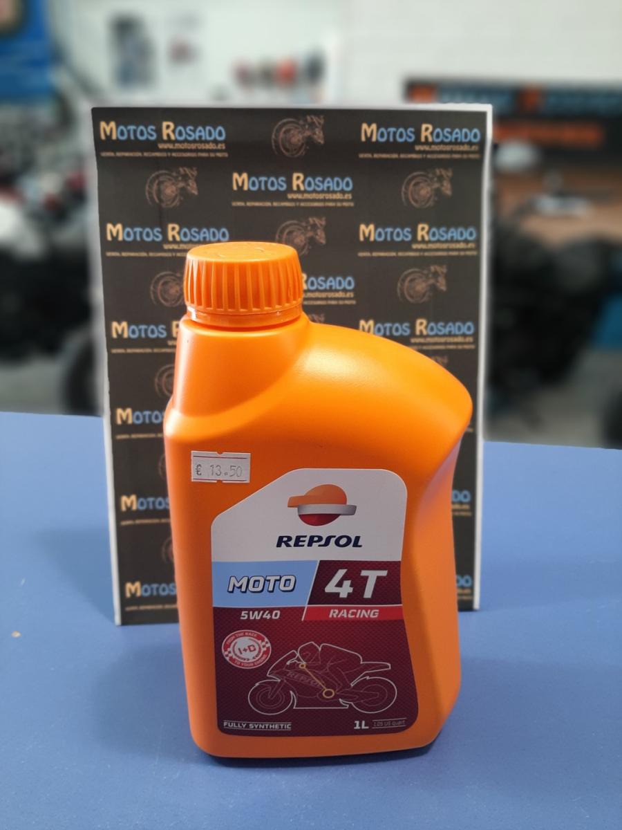 aceites y lubricantes para motos 5w 40