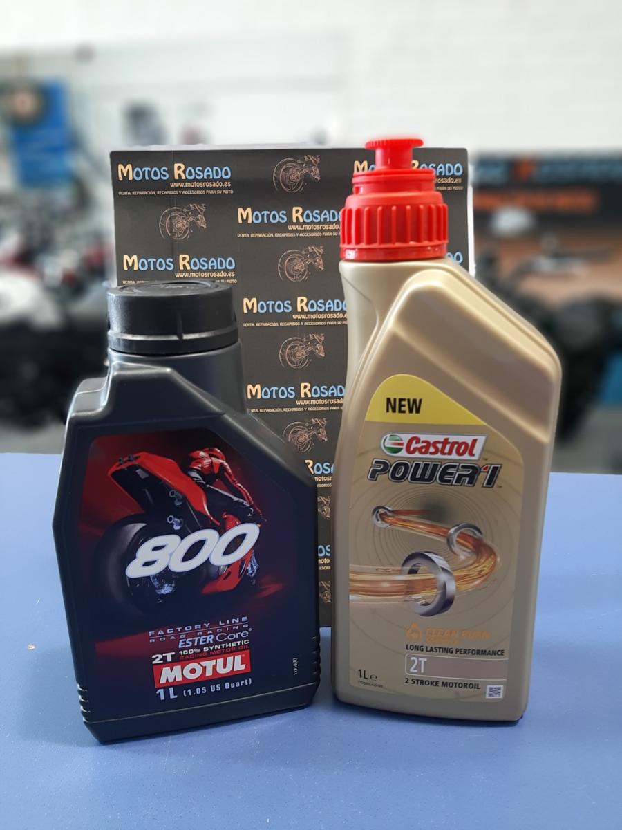 aceites y lubricantes para motos 2t