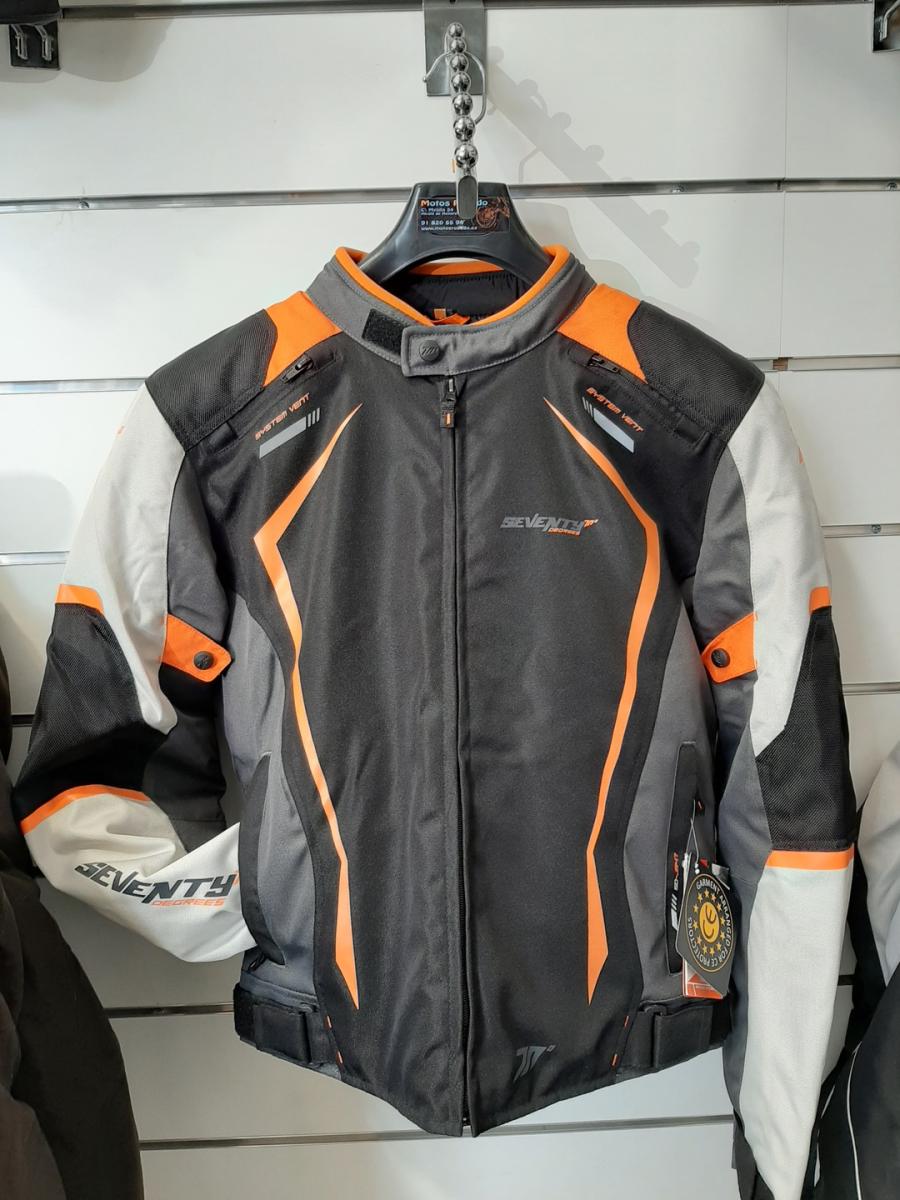chaqueta para motos