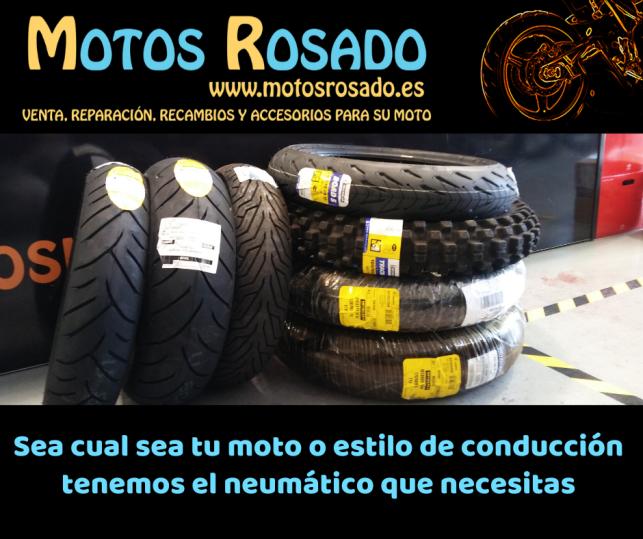 tienda de ruedas y neumáticos para motos