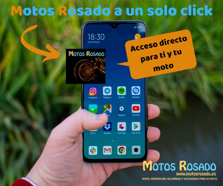 Motos Rosado tu taller de motos en tu móvil