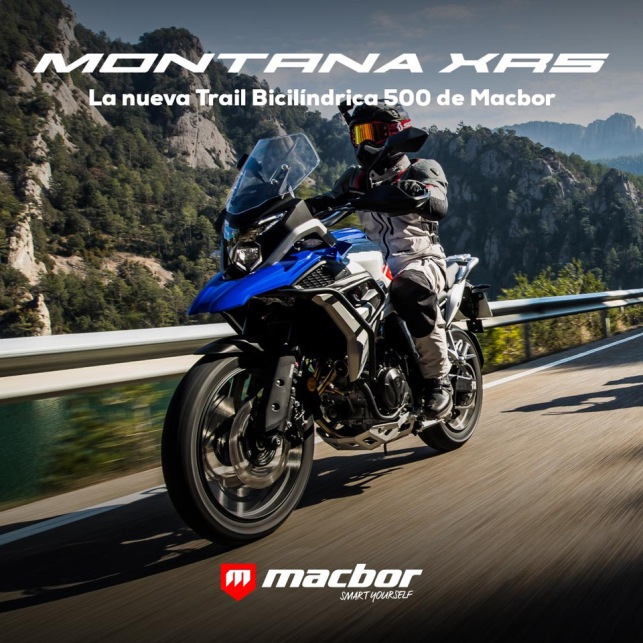 moto macbor montana xrs 500