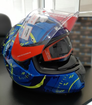 casco para motos ls2 stream evo tacho
