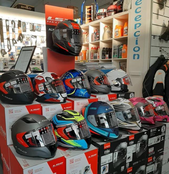 tienda cascos para motos