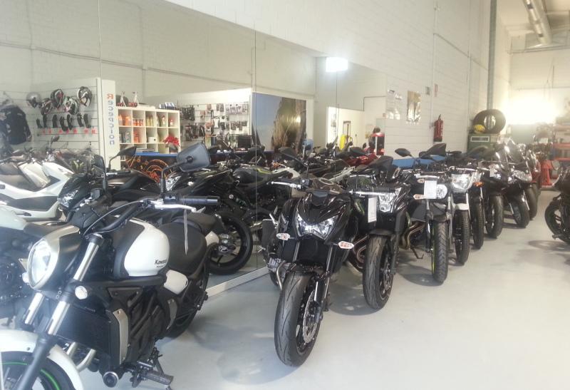 tienda de motos en Alcalá de Henares