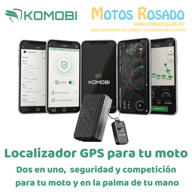 localizador GPS KOMOBI