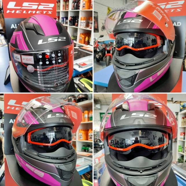 Casco LS2 Stream Evo Mercury